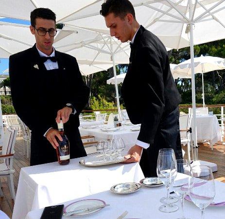 Hotel du Cap Eden-Roc: Great service