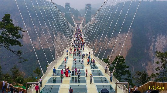 the grand canyon of zhangjiajie glass bridge - Zhangjiajie Glass Bridge