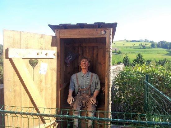Zobern, Austria: Extra attraction outside (surprise!)