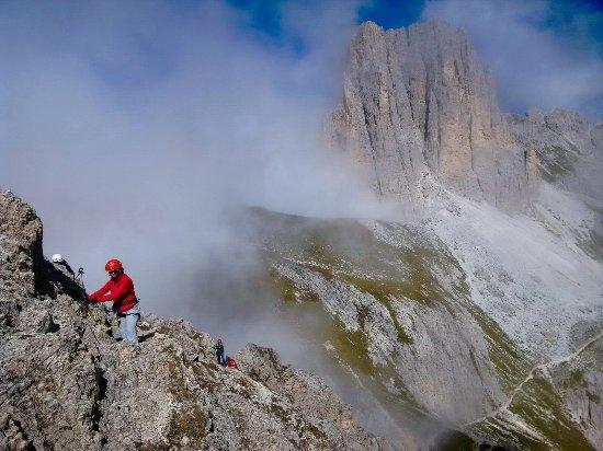 Klettersteig Rosengarten : Klettersteig zur rotwand einfach grad a bild von naturpark