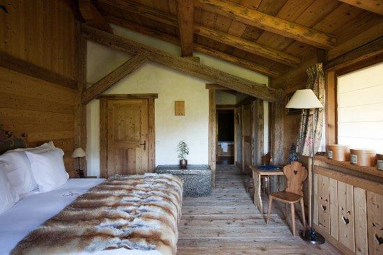 Chambre Chalet Alice - Picture of Chalet du Mont d\'Arbois, Megeve ...