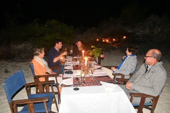 Matemwe Lodge, Asilia Africa: romantic dinner on the beach