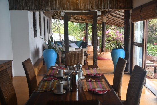 Matemwe Lodge, Asilia Africa: private dining place