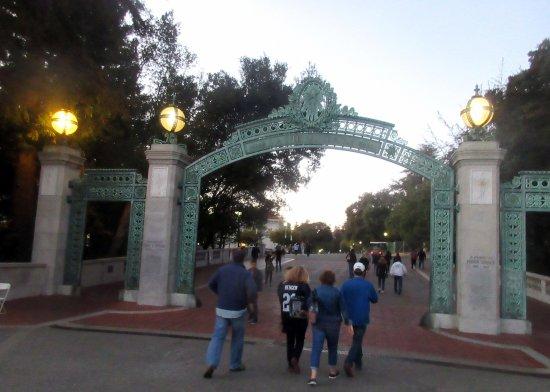 Sather Gate, University of California, Berkeley. CA