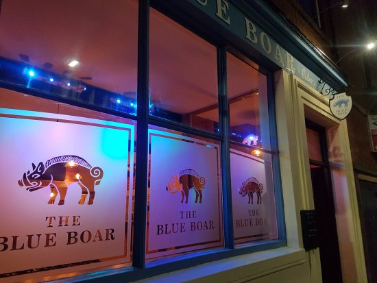 ‪The Blue Boar‬