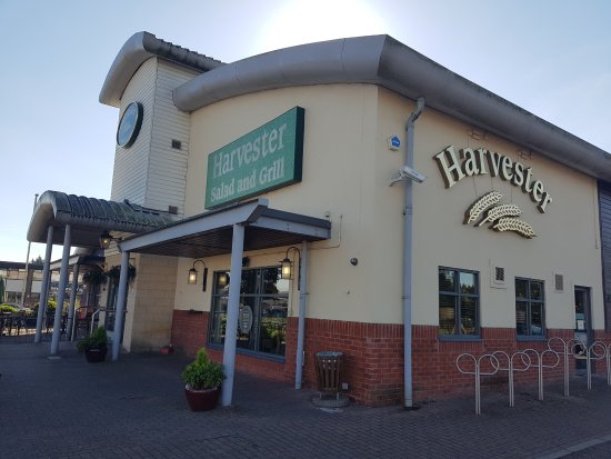 Entrance - Picture of The Priory Harvester, Gloucester - Tripadvisor