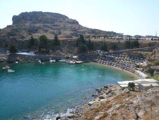 St Pauls Bay - Agios Pavlos Beach (Saint Paul), Lindos ...
