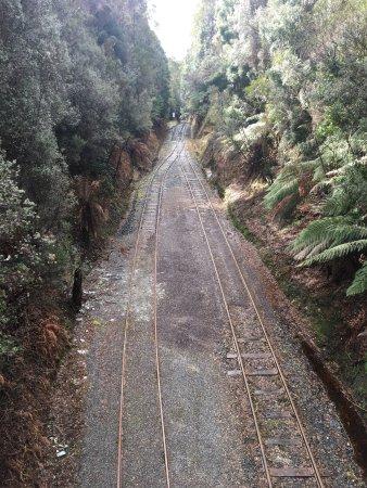 Strahan, Australië: Fantastic train ride experience