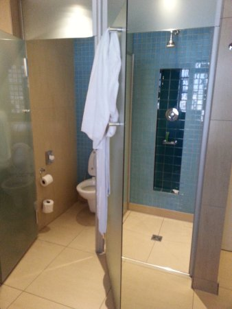 Peermont Metcourt Hotel at Emperors Palace: Very tight condition in bathroom & lavatory