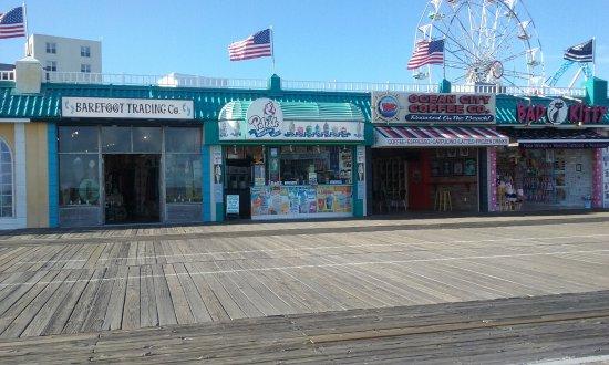 Ocean City Boardwalk Foto