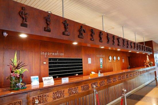 Hotel Carlton Antananarivo Madagascar: Reception Desk
