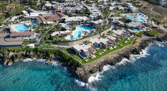 Ikaros Beach Resort & Spa: Aerial View
