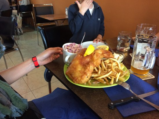 Lovadina, Ιταλία: Fish and Chips