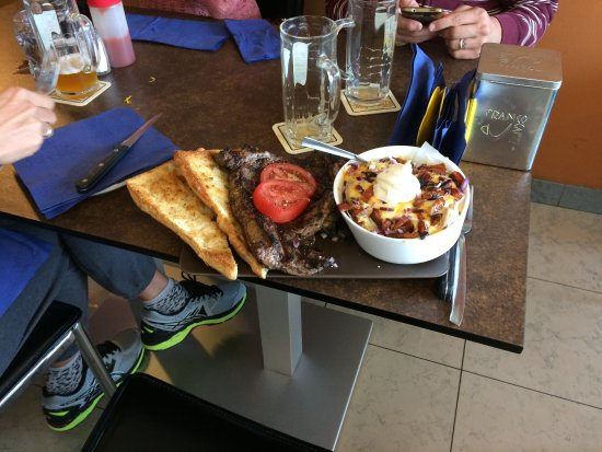 Lovadina, Ιταλία: La bistecchina da 500 g