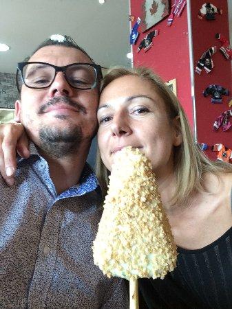 Lovadina, Italia: L'immancabile cheese cake