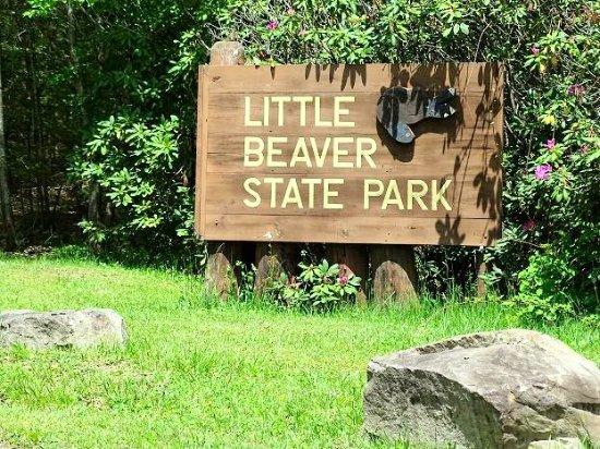 Beaver, WV: sign on road