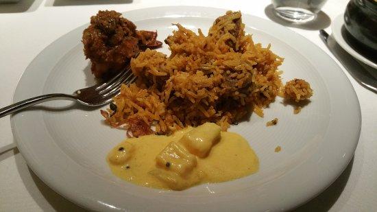 Subtle taste of india