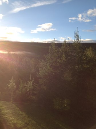 Glenmoriston, UK: View from the upstairs bedroom