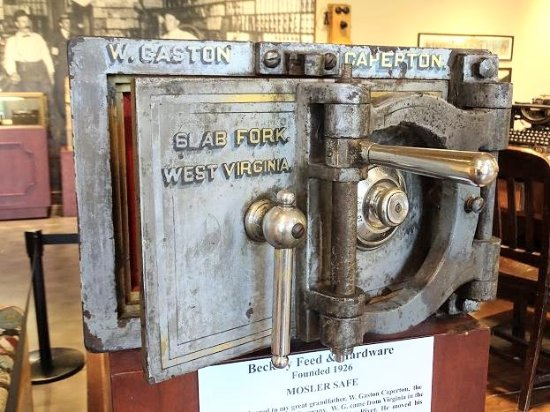 mosler safe - Picture of Beckley Exhibition Coal Mine and Youth