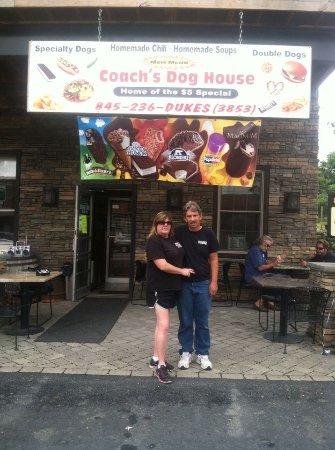 Coach's Dog House right in the middle Marlboro, NY 12550