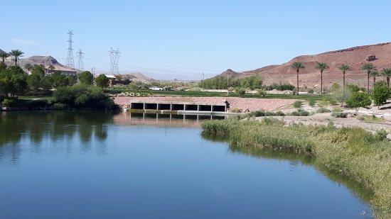 Hilton Lake Las Vegas Resort & Spa : Lake view wie erhalten