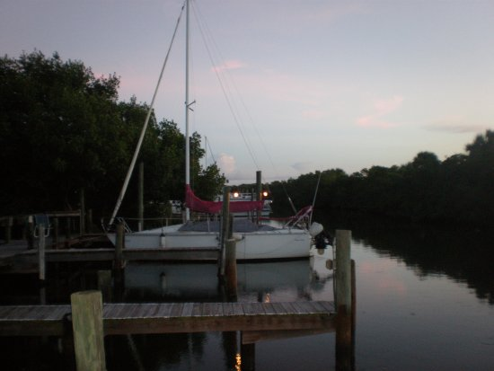 Nokomis, FL: The view from South Villa, early evening.