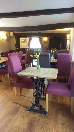 Oakamoor, UK: Bar dining area