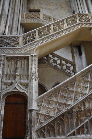 Tolle Treppe - Picture of Cathedrale Notre-Dame de Rouen, Rouen ...