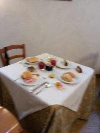 Valbruna, Ιταλία: colazione