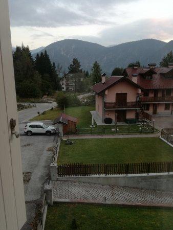 Valbruna, Ιταλία: vista montagne