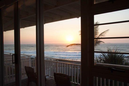 Umdloti, Sudáfrica: Blick auf den Sonnenaufgang