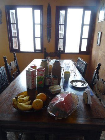 Pousada Favelinha: breakfast