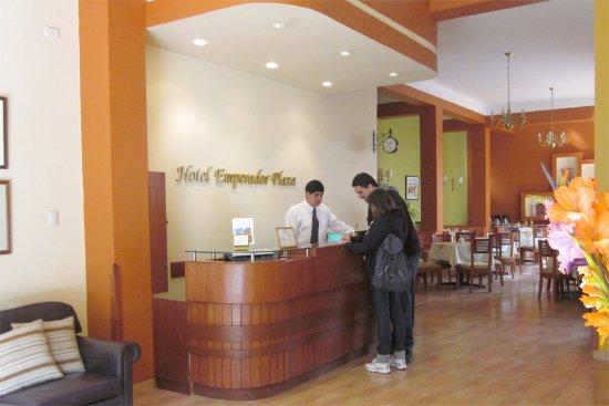 Emperador Plaza Hotel: RECEPCION