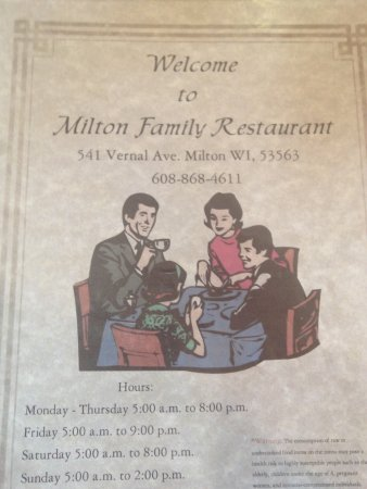 Milton Family Restaurant