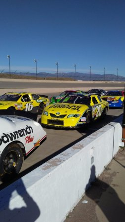 Fountain, CO: Cars ready to roll out.