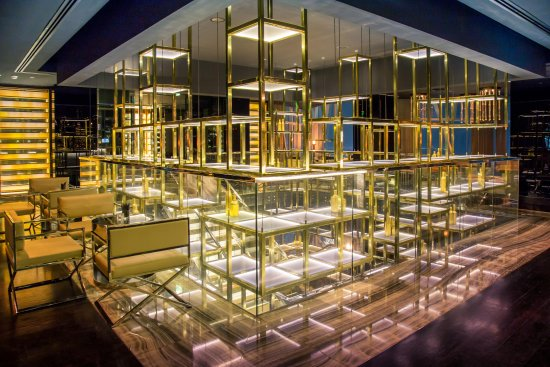 The vault bar and lounge dubai business bay ristorante