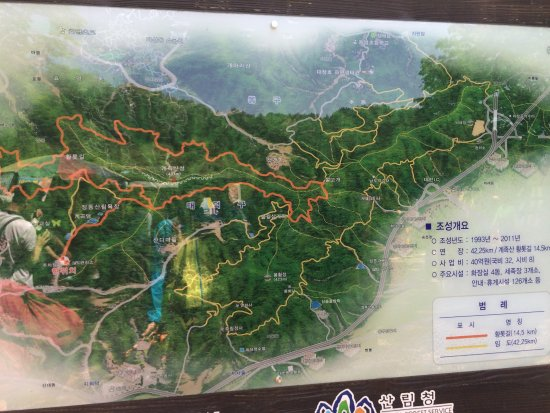 Fun and different Review of Gyejoksan Mountain Red Clay Trail