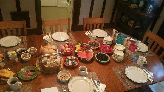 Foxglove Guesthouse: Das berühmte Frühstück. :-)
