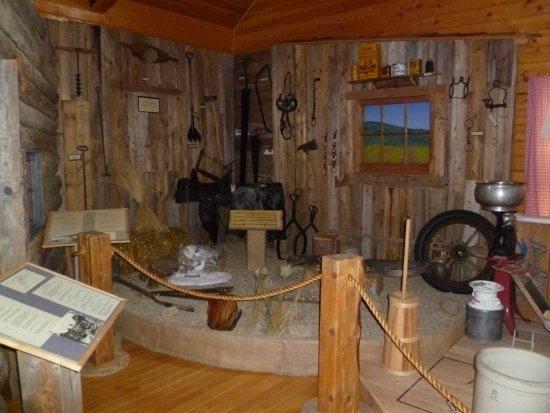 High Level, Canada: The life of an early settler is on display in our Pioneer exhibit