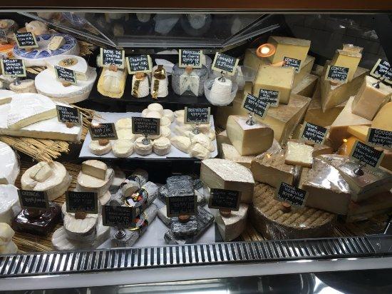 More choices of cheese  - Picture of El Mercado Bangkok