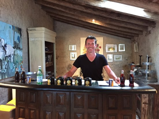 Saussignac, France: The charming host/co-owner Lee