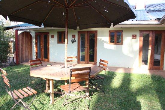 Wildebeest Eco Camp: Garden Rooms