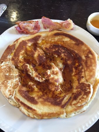 Grangemouth, UK: Pancake! and bacon