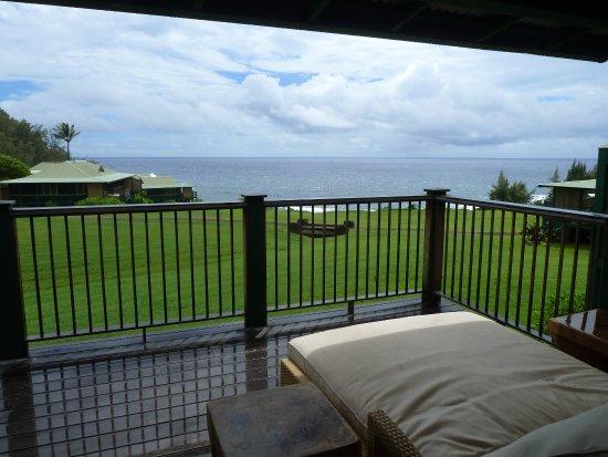 Travaasa Hana, Maui: Vue de la terrasse