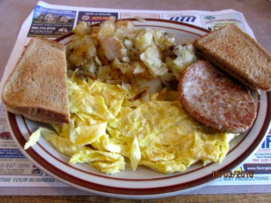 Pipersville, Pennsylvanie : Breakfast