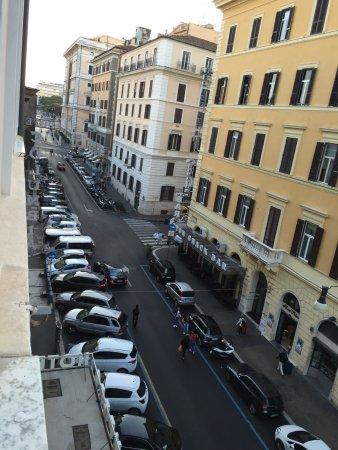Hotel Impero: Las vistas desde la habitación