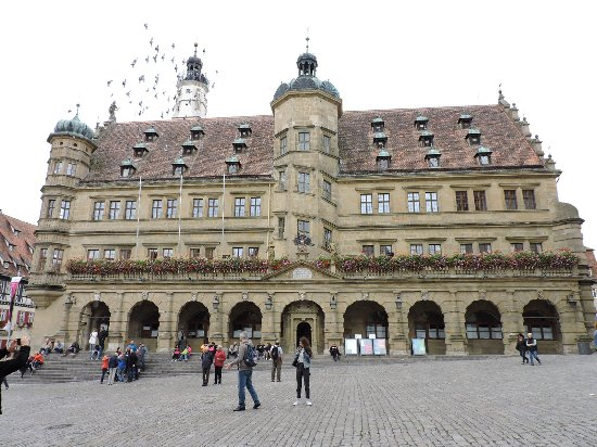 Rothenburg town hall rothenburg ob der tauber alemania billede af rothenburg town hall - Rothenburg ob der tauber alemania ...