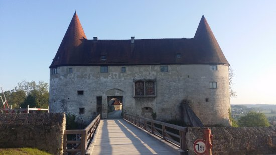 Burghausen, Tyskland: Das Ende der Burg