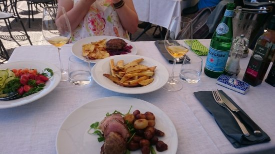 Civitella in Val di Chiana, Włochy: Awesome feast :D