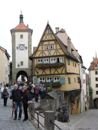 Das pl nlein rothenburg ob der tauber alemania picture of das plonlein rothenburg - Rothenburg ob der tauber alemania ...